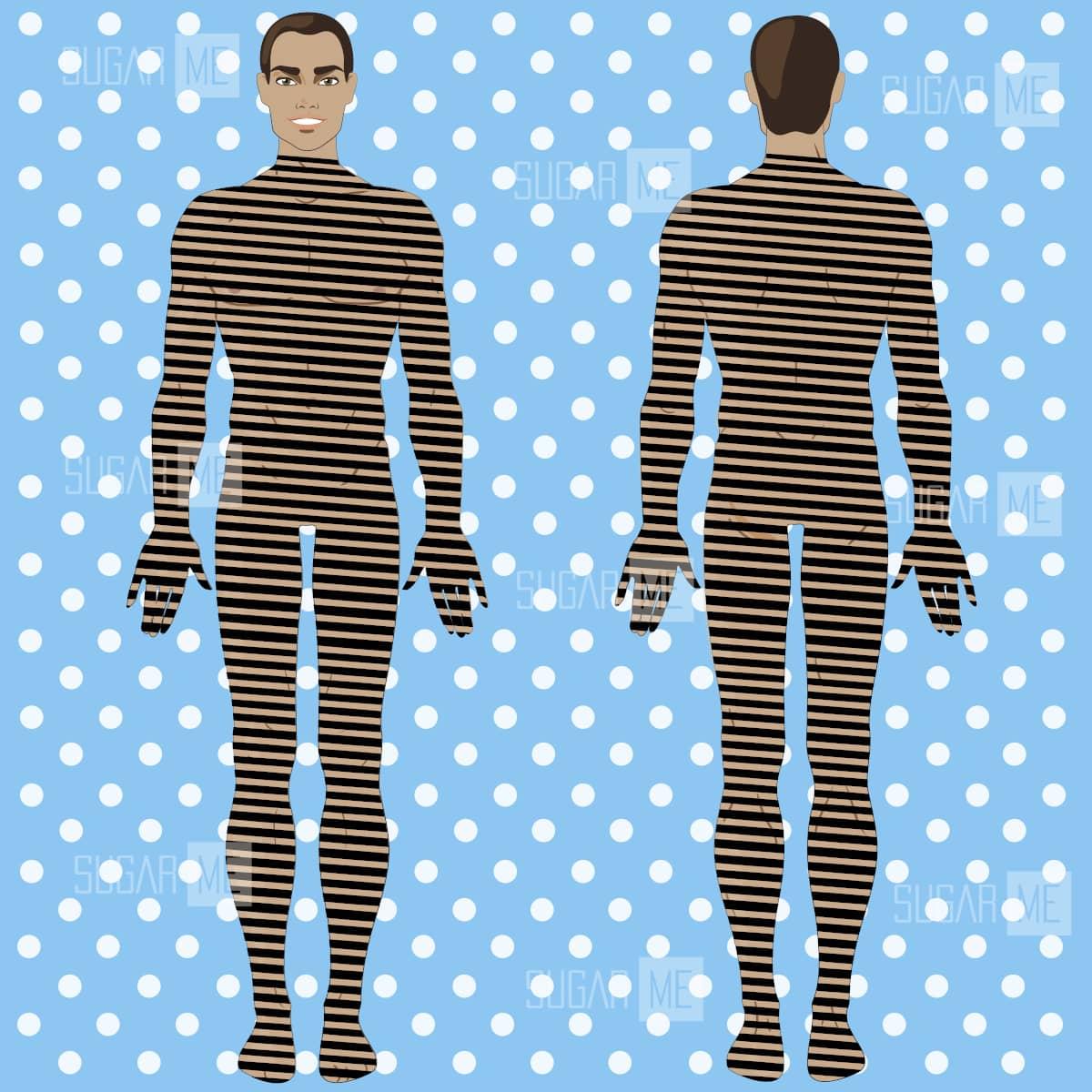 Чоловічий шугаринг всього тіла